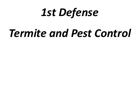 LabelSDS - our clients - 1st Defense Termite and Pest
